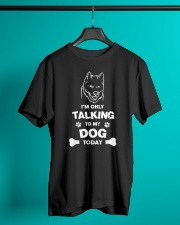 Akita dog lover gifts Classic T-Shirt lifestyle-mens-crewneck-front-3