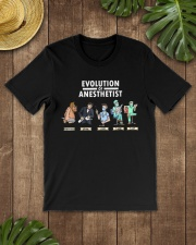 Anesthesiologist Anesthetist evolution funny gift Classic T-Shirt lifestyle-mens-crewneck-front-18
