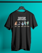 Anesthesiologist Anesthetist evolution funny gift Classic T-Shirt lifestyle-mens-crewneck-front-3