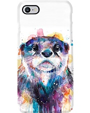 Otter watercolor cool phonecase Phone Case i-phone-8-case