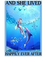 Dolphin and she lived happily ever after poster 11x17 Poster front
