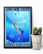 Dolphin and she lived happily ever after poster 11x17 Poster lifestyle-poster-8