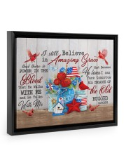 I Still In Amazing Grace - Canvas 14x11 Black Floating Framed Canvas Prints thumbnail