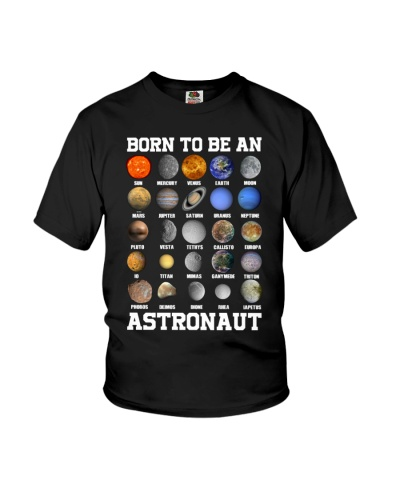 Born to be an astronaut