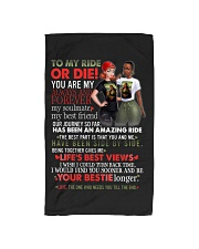 TO MY RIDE OR DIE Hand Towel thumbnail