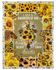 God - Daughter Of God - Fleece Blanket Fleece Blanket tile