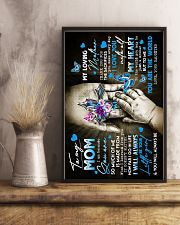To My Mom - God - Poster 16x24 Poster lifestyle-poster-3