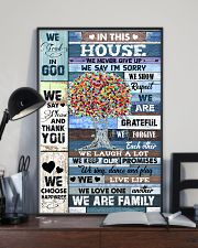 In this house - God - Poster 16x24 Poster lifestyle-poster-2