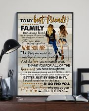 TO MY BESTIE - ART - THANK YOU 16x24 Poster lifestyle-poster-2