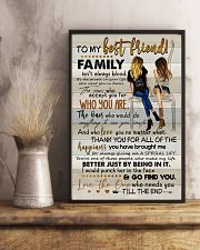TO MY BESTIE - ART - THANK YOU 16x24 Poster lifestyle-poster-3