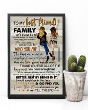 TO MY BESTIE - ART - THANK YOU 16x24 Poster lifestyle-poster-8