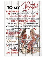 TO MY BESTIE - GIRLS - THANK YOU 16x24 Poster front