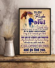 TO MY RIDE OR DIE - GIRLS 16x24 Poster lifestyle-poster-3