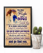 TO MY RIDE OR DIE - GIRLS 16x24 Poster lifestyle-poster-8