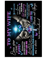 To My Wife - God - Poster 16x24 Poster front