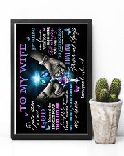 To My Wife - God - Poster 16x24 Poster lifestyle-poster-8