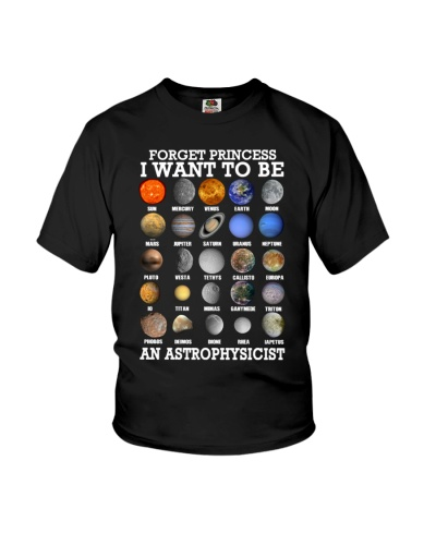 Forget princess i want to be astrophysicist
