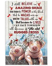 POSTER - GOD - PIG 16x24 Poster front