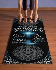 God - Way Maker - Yoga Mats Yoga Mat 24x70 (vertical) aos-yoga-mat-lifestyle-26