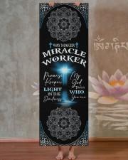 God - Way Maker - Yoga Mats Yoga Mat 24x70 (vertical) aos-yoga-mat-lifestyle-29