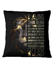 PHONE CASE - GOD - LION Square Pillowcase thumbnail