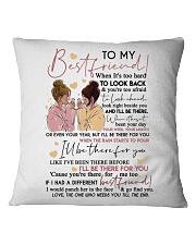 TO MY BEST FRIEND Square Pillowcase thumbnail