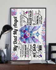 God - To My Angel Dad - Poster 16x24 Poster lifestyle-poster-2