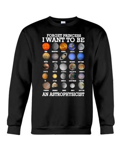 Forget princess i want to be an astrophysicist