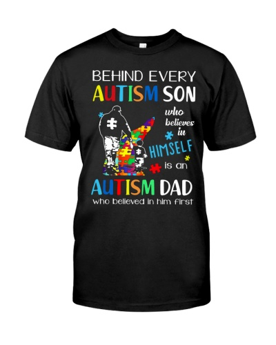 Behind every autism son