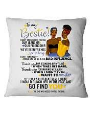 TO MY BESTIE Square Pillowcase thumbnail
