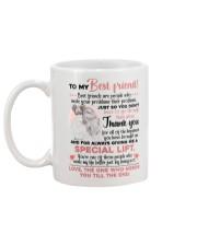 TO MY BESTIE - GIRLS - THANK YOU Mug back