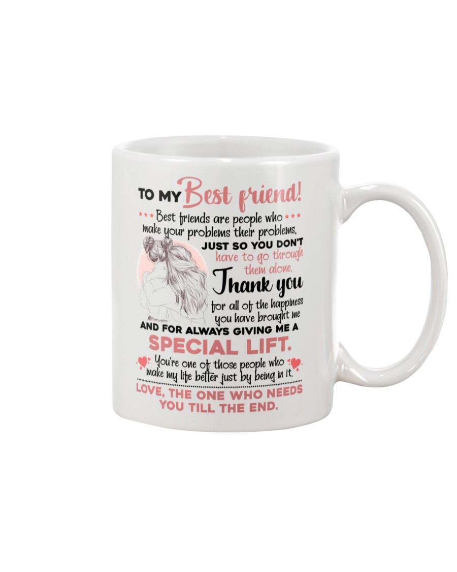 TO MY BESTIE - GIRLS - THANK YOU Mug