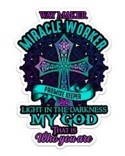 God - Sticker  Sticker - Single (Vertical) front