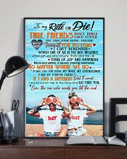 TO MY RIDE OR DIE 16x24 Poster lifestyle-poster-2