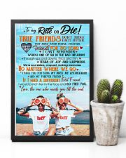 TO MY RIDE OR DIE 16x24 Poster lifestyle-poster-8