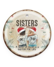 God - Sisters In Christ - Ornament Circle ornament - single (porcelain) front