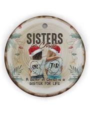 God - Sisters In Christ - Ornament Circle ornament - single (wood) thumbnail