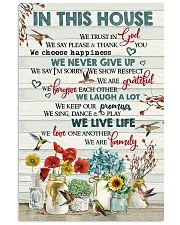 POTSER - GOD - FAMILY 16x24 Poster front