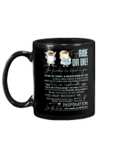 TO MY RIDE OR DIE - PUGDOGS - THANK YOU Mug back