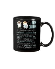 TO MY RIDE OR DIE - PUGDOGS - THANK YOU Mug front