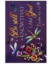 God - Dragonfly - Be still - Poster  16x24 Poster front