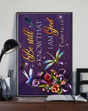 God - Dragonfly - Be still - Poster  16x24 Poster lifestyle-poster-2