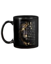 MUG - GOD - LION Mug back