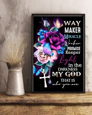 God - Way Maker - Poster 16x24 Poster lifestyle-poster-3