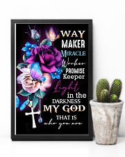 God - Way Maker - Poster 16x24 Poster lifestyle-poster-8