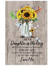 God - Sunflower - Daughter Of The King - Canvas 11x17 Poster thumbnail