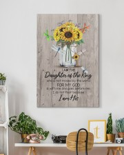 God - Sunflower - Daughter Of The King - Canvas 20x30 Gallery Wrapped Canvas Prints aos-canvas-pgw-20x30-lifestyle-front-03