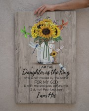 God - Sunflower - Daughter Of The King - Canvas 20x30 Gallery Wrapped Canvas Prints aos-canvas-pgw-20x30-lifestyle-front-29
