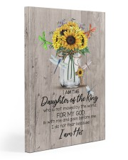 God - Sunflower - Daughter Of The King - Canvas 20x30 Gallery Wrapped Canvas Prints front