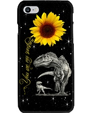 SUNFLOWER - DINOS - SUNSHINE Phone Case i-phone-7-case